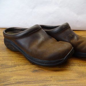 Merrell Jungle Primo Leather Clogs Size 8.5